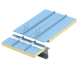 Single Skinned Insulated Roofing Sheets - Aditya Profiles