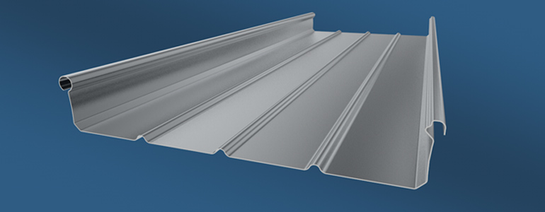Zip roof standing seam metal roof- Aditya profiles